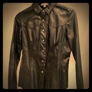 Vintage Leather Shirt